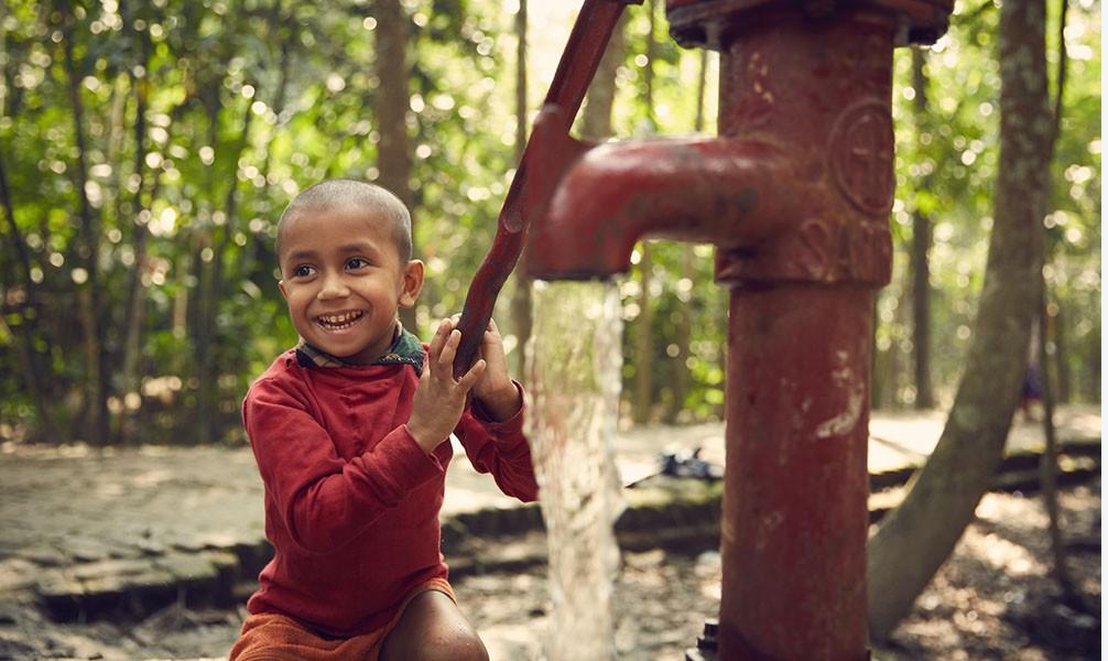 Entwicklungshilfe für Bangladesch